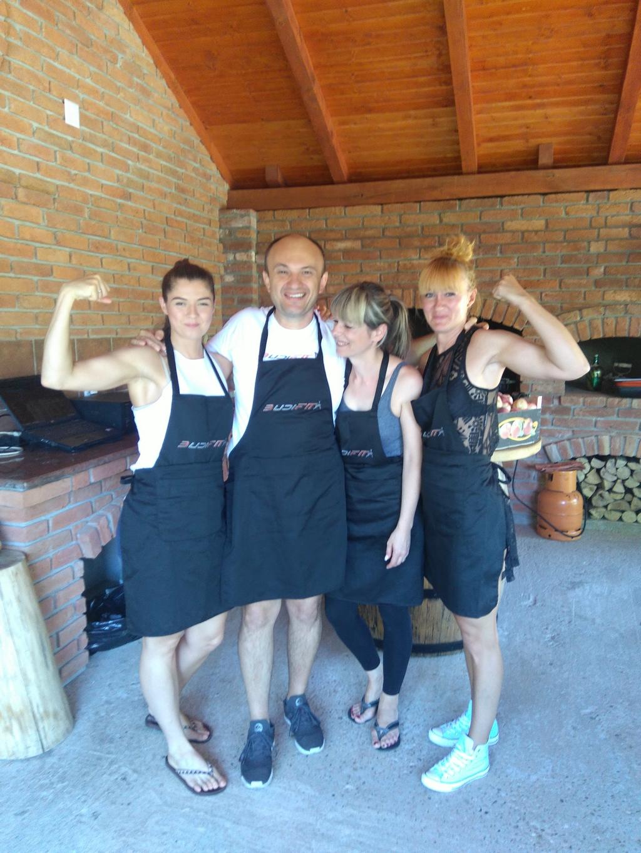 Budi fit roštiljada i kamp 2017.