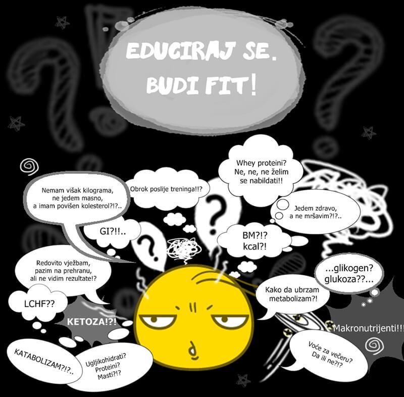 Edukacija o prehrani i tjelesnoj aktivnosti